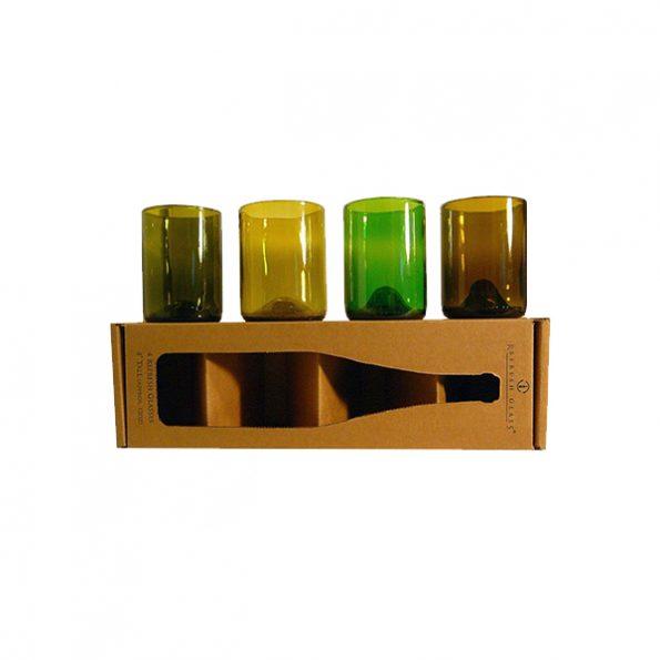 Refresh Glass Wine Bottle