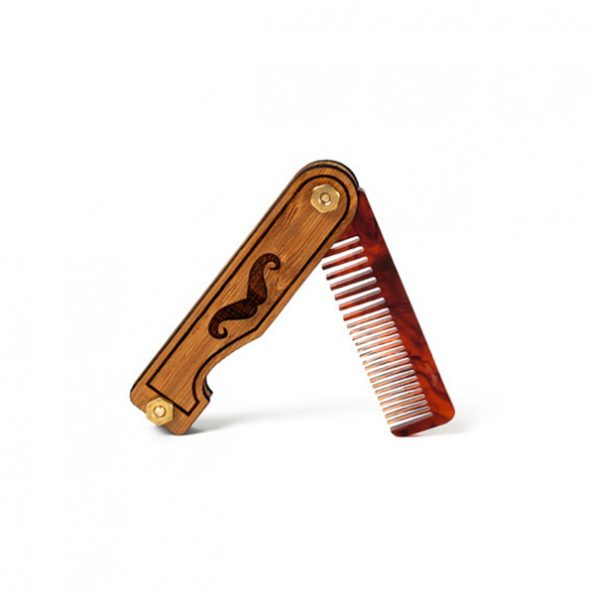 Handmade Personalized Beard Hair Comb